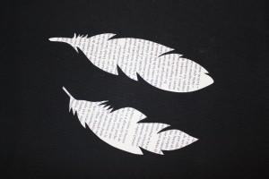 Plumas de papel... dans Libros